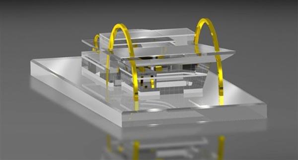 3D Building Replica